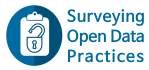 Surveying Open Data Practices in Research 2020